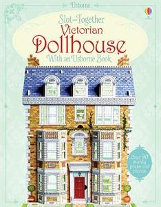 9780794535940: Slot-Together Victorian Dollhouse with an Usborne Book