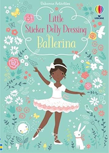 9780794537425: Usborne Books Little Sticker Dolly Dressing Ballerinas
