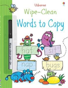 9780794537661: Words to Copy Wipe-Clean