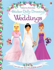 9780794537852: Sticker Dolly Dressing Weddings (Reusable)