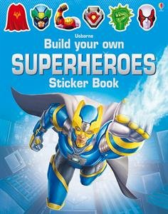 Build Superheroes Sticker Book: Sinon Tudhope