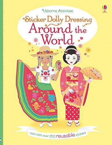 9780794539801: Sticker Dolly Dressing Around the World (Reusable)