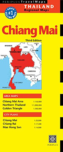 9780794600167: Chiang Mai Travel Map Third Edition (Thailand Regional Maps)