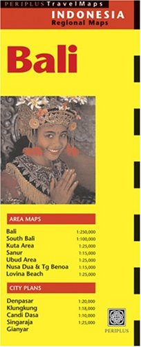 Bali (Periplus Travel Maps) (Indonesia Regional Maps)
