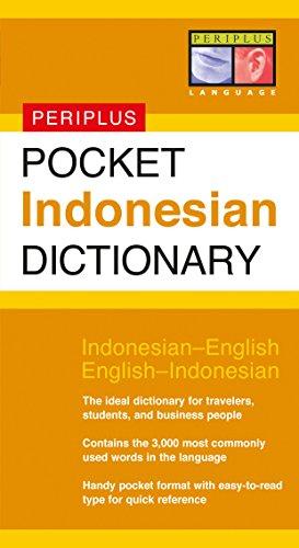 Pocket Indonesian Dictionary: Indonesian-English English-Indonesian (Periplus Pocket: Goebel, Zane, Goebel,