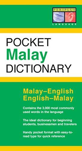 9780794600570: Pocket Malay Dictionary: Malay-English English-Malay (Periplus Pocket Dictionaries)