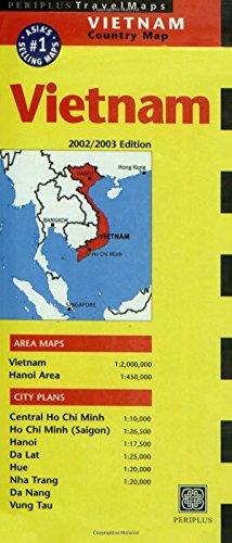 9780794600709: Vietnam Periplus Travel Map (Periplus Travel Maps)