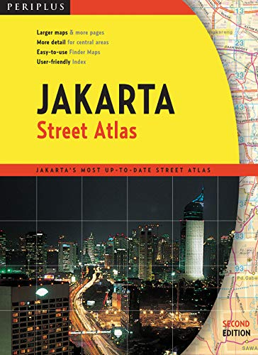 Jakarta Street Atlas: Larger Maps & More Pages - More Detail for Central Areas - Easy-To-Use ...