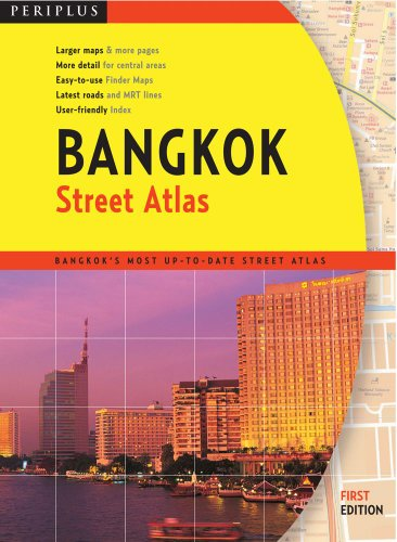 9780794600877: Bangkok Street Atlas First Edition (Periplus Street Atlas)