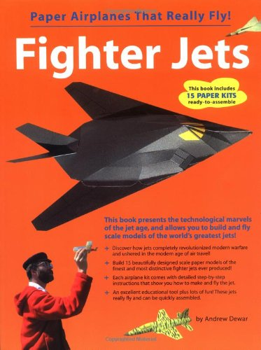 9780794602208: Fighter Jets (Paper Airplanes That Really Fly!)