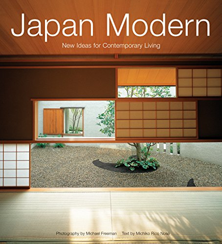 Japan Modern: New Ideas for Contemporary Living (Paperback): Michiko Rico Nose