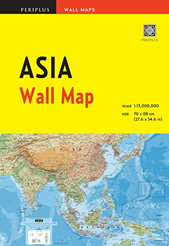 9780794604578: Asia Wall Map