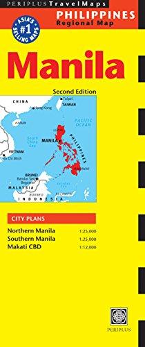 9780794605148: Manila Travel Map Second Edition (Philippines Regional Map)