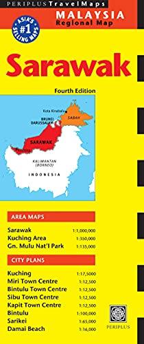 9780794605193: Sarawak Travel Map Fourth Edition (Malaysia Regional Maps)