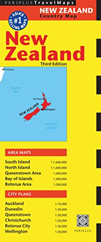 9780794605414: New Zealand Travel Map (Periplus Maps)