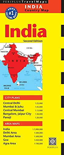 9780794605483: India Country Map (Periplus Maps)