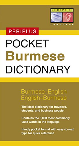 Pocket Burmese Dictionary : Burmese-English English-Burmese: Periplus Editors