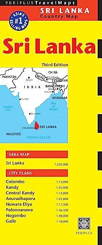9780794606039: Periplus Travel Maps Country Map Sri Lanka