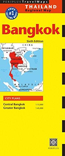 9780794606145: Bangkok Travel Map Sixth Edition