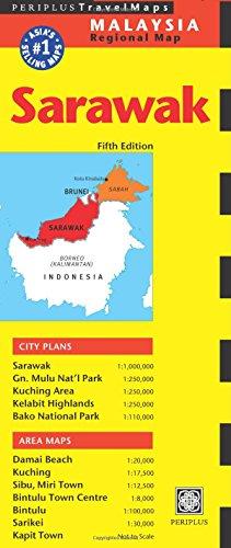 9780794606237: Periplus Travel Map Sarawak: Malaysia