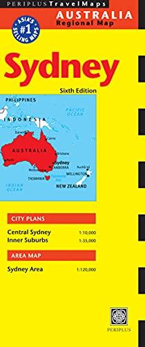 9780794606596: Sydney Travel Map Sixth Edition (Periplus Travel Maps)