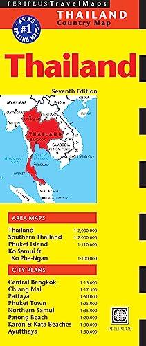 9780794607081: Thailand Travel Map Seventh Edition (Periplus Travel Maps)