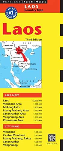 9780794607319: Laos Travel Map Third Edition (Periplus Maps)