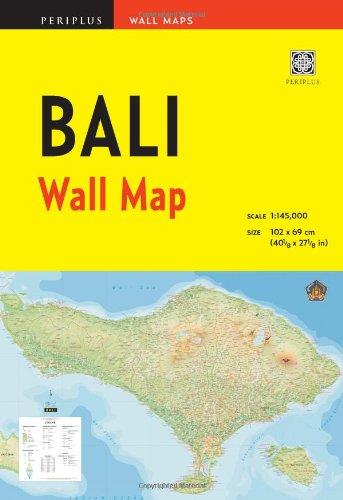 9780794607449: Bali Wall Map Third Edition