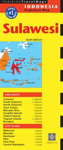 9780794607630: Sulawesi Travel Map (Periplus Travel Maps: Indonesia Regional Map)