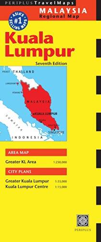 9780794607678: Periplus Travel Map Kuala Lumpur Malaysia