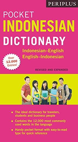 Periplus Pocket Indonesian Dictionary: Indonesian-English English-Indonesian (Paperback): Katherine Davidsen