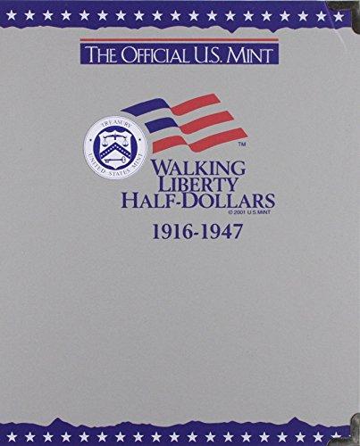 9780794808082: The Official U.S. Mint Walking Liberty Half Dollars Coin Album: 1916-1947