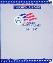 9780794808105: The Official U.S. Mint Kennedy Half Dollars Coin Album: 1964-1987