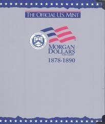 9780794808129: The Official U.S. Mint Morgan Dollars Coin Album: 1878-1890