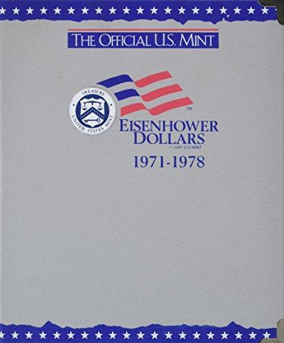 9780794808150: The Official U.S. Mint Eisenhower Dollars Coin Album: 1971-1978