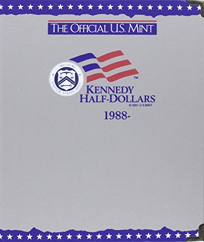 9780794810641: The Official U.S. Mint Kennedy Half Dollars Coin Album: 1988-