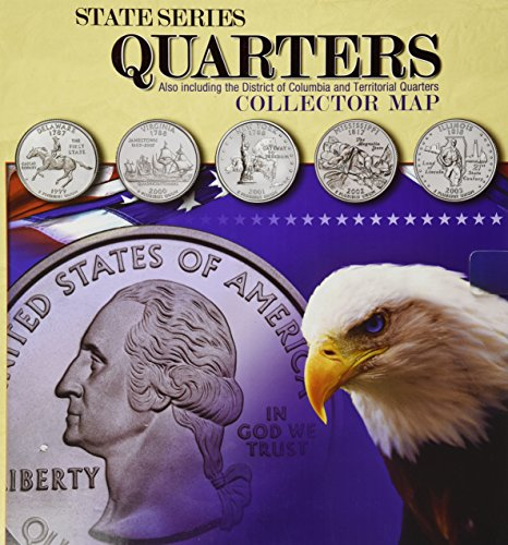 9780794821944: State Series Quarters Collector Map: Also Including the District of Columbia and Territorial Quarters