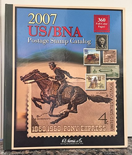 2007 Us/ Bna Postage Stamp Catalog: Whitman Publishing Co
