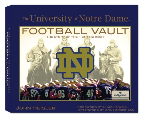 9780794823863: University of Notre Dame Football Vault (College Vault)