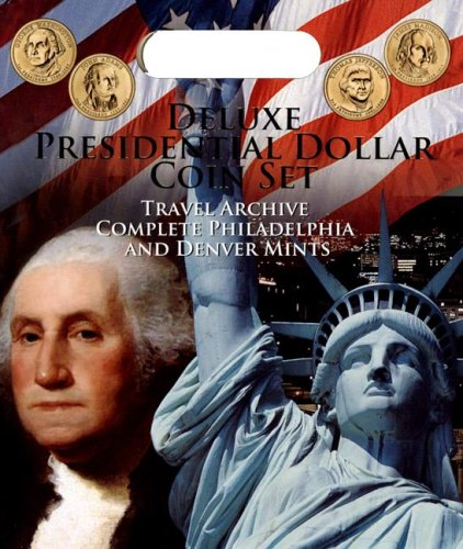 9780794823900: Deluxe Presidential Dollar Coin Set: Travel Archive Complete Philadelphia and Denver Mints