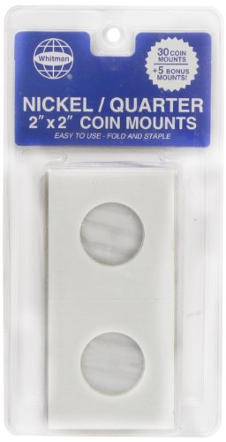 9780794826833: Whitman 35 Count Mylar Nickel & Quarter Coin Holders