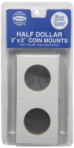 9780794826840: Whitman 35 Count Half Dollar Mylar Coin Holders