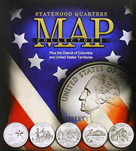 9780794827847: Statehood Quarters Map