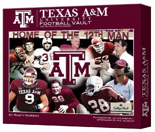 Texas A&m Football Vault (College Vault): Rusty Burson