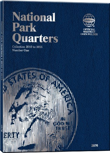 9780794828769: Whitman National Park Quarters Folder Collection 2010 to 2015