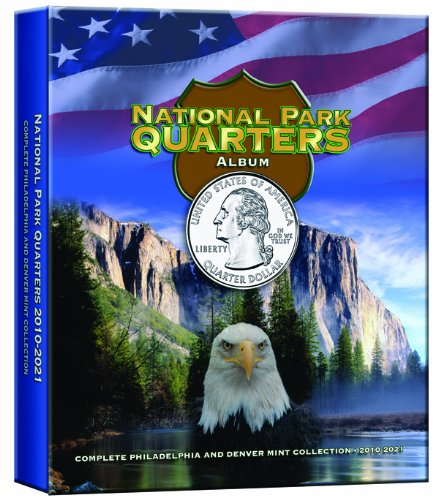 9780794828820: National Park Quarters Album Older Vol III: Complete Philadelphia and Denver Mint Collection 2010-2021