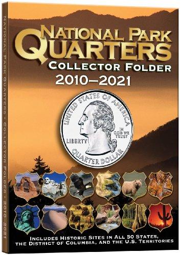National Park Quarters Collector Folder 2010-2021
