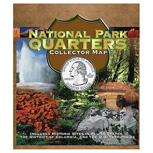 9780794828844: National Park Quarter Foam Map