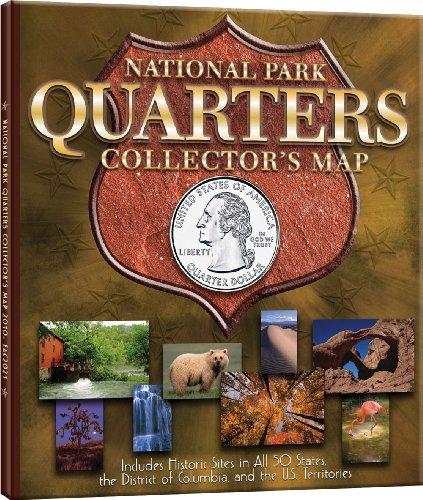 9780794828851: National Park Quarter Archive Map