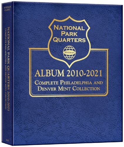 National Park Quarter P&d Mint Album 2010-2021: Whitman Publishing